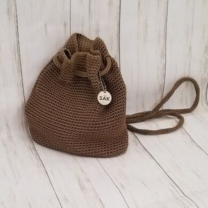 The Sak Backpack Purse in Tan